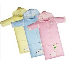NEW BABY / TODDLER Sleeping Bags (Adjustable) Pink, Blue, Yellow 83-113cm Long