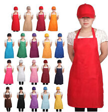 Plain Unisex Cooking Chefs Catering Work Apron Tabard with Pocket HS