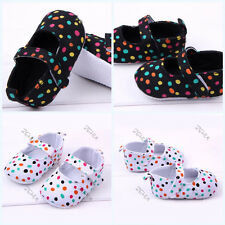 Mary Jane Style Kids Baby Toddler Shoes Polka Dot Soft Bottom Shoes 3-12 months