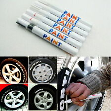 Hot 9 Colore Permanent Paint Pen Tire Metal Outdoor Marking Ink Marker Creative