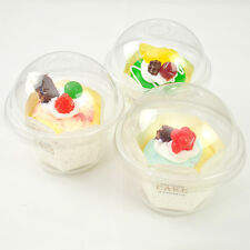 Disposable Plastic Muffin Cupcake & Cake Take-out Carrier Box C145