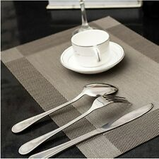 """""""Fortitude"""" 4 Pieces PVC Placemat Tablemat Heat-Proof Table Mat Home Decor Gift"""