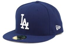 New Era 5950 MLB Team Los Angeles Dodgers 4X Patch New Mens Royal Fitted Caps