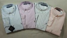 Ralph Lauren Polo Pony Classic Oxford Striped Dress Shirt 14 15.5 16.5 17.5 32