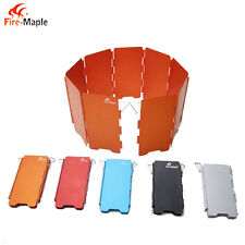 Fire Maple FMW-503 Camping Stove Foldable 9-Plates Wind Screen/Baffle by CanyonS