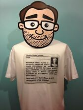 Bette Davis tribute T Shirt - Situations Wanted Variety Advert