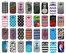 For Samsung Galaxy Ring M840 Prevail 2 Snap On Protective Hard Cover Phone Case