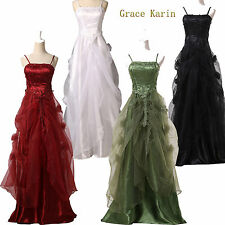 Dreaming Women Stain Long Bridesmaid Wedding Party Ball Prom Party Formal Dress