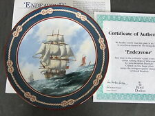 Royal Doulton Ltd Ed Great Ships of Discovery Plate - various designs available