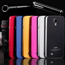 Ultra-thin All Metal Aluminum Hard Case Cover For Samsung Galaxy S4 + Stylus