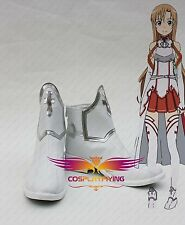 Hot Anime Sword Art Online Asuna Yuuki Deluxe Boots Cosplay Shoes New
