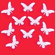 Butterfly Long Wings Mirrors, Crafting/Decorative 3mm Acrylic Mirror Sticky Pads