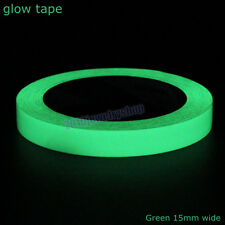 Luminous Photoluminescent Tape Glow In The Dark Stage Home Decoration Width 15mm