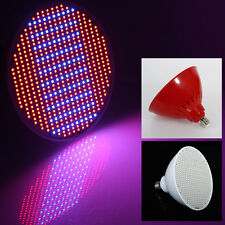 NEW 4PCS 50W E27 Grow Light 500PCS SMD LED Chips RED+BLUE Hydroponics for Plant