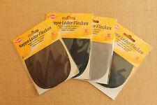 Kleiber Nappa Leather Elbow Patches x 2 Washable - Choice of Colours