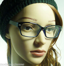RETRO Wayfarer Optical Vintage Men Women Frame Clear Lens Eye Glasses 2 Styles