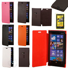 Hot business Luxury Leather PU Case Flip Cover Film For Nokia Lumia 920 N920 HT