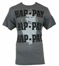 Duck Dynasty Mens T-Shirt - Happy Happy Happy Grayed Out Phil Robertson Image