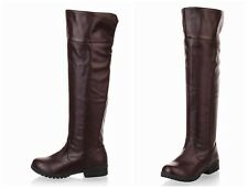 "Cosplay Boots of Japanese Animation ""Attack on Titan"" Military Boot Style"