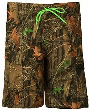 Men's CAMO BOARD SHORTS Camouflage- Swim Trunks -Swim Wear- Water Sports