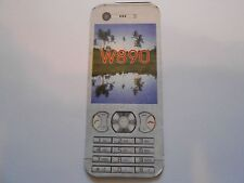 Sony Ericsson W890 Faceplate Housing Fitted Case Skin Rigid Plastic For W890