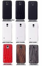 New PU Leather Battery Replace  Housing PC Cover Case For Galaxy S5 i9600