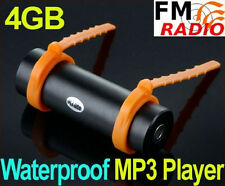 4GB Swimming Diving Water IP*8 Waterproof MP3 Player FM Radio Earphone 4 GB