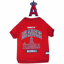 MLB Pet Fan Gear LOS ANGELES ANGELS OF ANAHEIM T Shirt Tee  for Dog Dogs Puppy