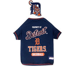 MLB Pet Fan Gear DETROIT TIGERS Tee Tank T Shirt for Dog Dogs Puppy COTTON
