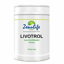 LIVOTROL HERBAL LIVER DETOX FLUSH NATURAL CLEANSER GALL BLADDER CLEANSE ZENULIFE