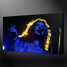 ROBERT PLANT LED ZEPPELIN CANVAS PRINT PICTURE WALL ART FREE FAST UK DELIVERY