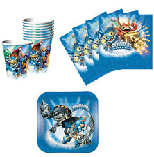 Skylanders Birthday Party Supplies Kit Plates Napkins & Cups Set for 8 or 16 NEW