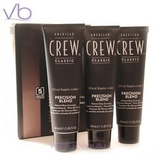 AMERICAN CREW 5 Minute Color Trio Pack For Men Precision Blend Camo - Gray Hair