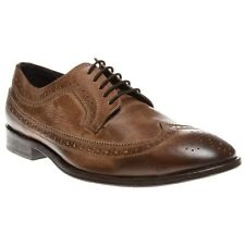New Mens SOLE Tan Joseph Leather Shoes Brogue Lace Up