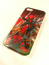 Deadpool Marvel Action cartoon Exclusive Iphone 4 / 4s Hard Case cover 2014