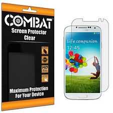 6X COMBAT HD Screen Protector Cover Shields For Samsung Galaxy S4 i9500 SIV