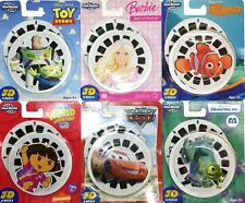 View Mater 3D Reels Disney Cars Toy Story Barbie Dora Monsters Inc Finding Nemo