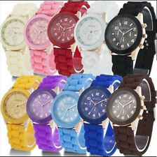 Girls ,Boys Silicone Geneva Jelly  Sports Wrist Watch for Kids Children Child