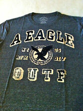 AMERICAN EAGLE AE Mens Signature Vintage Graphic T Shirt NWT
