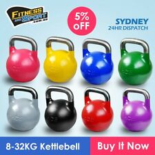 New 8kg 10kg 12kg 16kg 20kg Competition / Pro Grade Kettlebell gym Free shipping