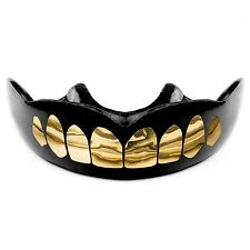 Mouth Guard, Custom Mouth Piece, Gold or Silver Teeth, Strap Option, Free Case