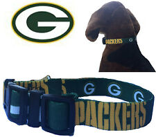 NFL Pet Fan Gear GREEN BAY PACKERS Collar Collars for Dog Dogs Puppy Puppies