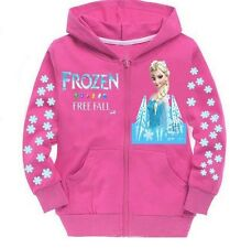 New Disney Frozen Elsa Hoodie Girls 4 5 6 6x 7 8