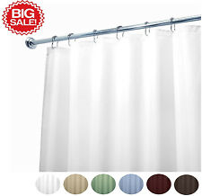 """Deluxe Quality Fabric Shower Curtain Liner Available in Many Colors 70""""W x 72""""L"""