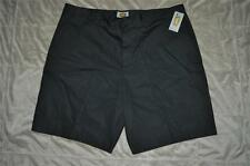 The Foundry Supply Co. Shorts Solid Flat Front Big & Tall Mens Sizes Black NWT