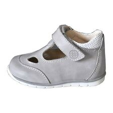 Baby First Walking Shoes HandMade in Italy - Cenere