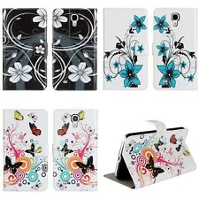 """For Samsung Galaxy Mega 6.3"""" I9200 PU leather slots wallet Cover stand Flip Case"""