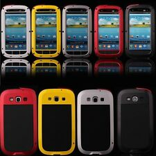 Aluminum Metal Shock Water Proof Gorilla Glass Case Cover Samsung Galaxy S3 S4