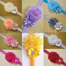 FASHION Kid Girl Baby Toddler Infant Flower Headband Hair Bow Band Accessories