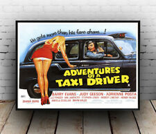 Adventures of a taxi driver : Old film Poster reproduction